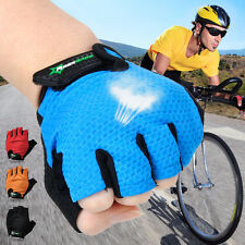 New Outdoor Sports Rockbros Half Short Finger Gloves Cycling Bicycle Fingerless