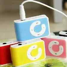 5Color Mini Clip USB MP3 Music Player Support 1-8GB Micro SD TF Memory  Card New