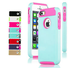 PC Shockproof Dirt Dust Proof Hard Matte Cover Case Skin For iPhone 5 5S BT