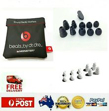Replacement Pouch + 1 Sets Silicon Earbuds Sets For Beats Dr.Dre Monster Urbeat