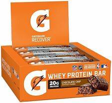 Gatorade Whey Protein Recover Bars 2.8 oz, 12 Count