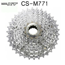 New Shimano Deore XT CS-M771 Mountain Bike Cassette 10-speed 11-32T 34T 36T