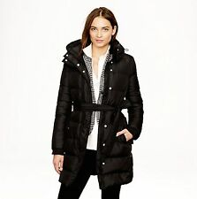 NWT J.Crew Wintress Long Belted Down Puffer Coat Jacket XXS-XL Black