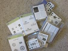 Stampin' Up! Wood Stamp Sets Mounted Gently Used Your Choice