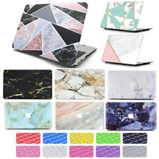 """2in1 Silk Leather Quicksand Marble Hard Case Cover  For MacBook Pro Air 11""""/13"""""""