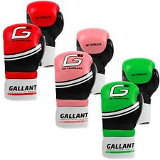 Boxing Gloves Sparring Muay Thai Kick Pads Punch Bag Mitts Training MMA Fight