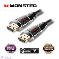 Monster Ultra HD™ Black Platinum Ultimate High Speed Advanced HDMI Cable  27Gbps