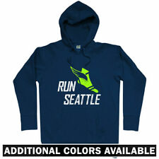 Run Seattle V3 Hoodie - WA Washington Running Runner Fitness Athlete - Men S-3XL