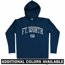 Ft Worth 817 Hoodie - Fort TX Texas DFW Dallas Cowboys Cats Fire USA - Men S-3XL