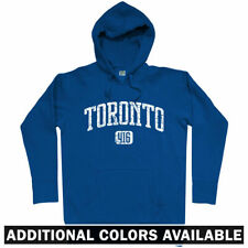 Toronto 416 Hoodie - T-Dot ON Ontario Blue Jays Raptors Maple Leafs - Men S-3XL