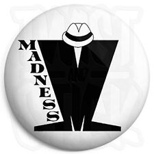 Madness - M Logo - 25mm Skinhead, Ska Button Badge with Fridge Magnet Option