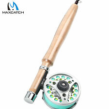 1/2WT Fly Rod Combo Medium-fast Fly Fishing Rod & Aluminum Fly Reel & Fly Line
