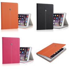 Adsorption Folio Patterns Luxury Leather Smart Case Cover Stand For Apple ipad