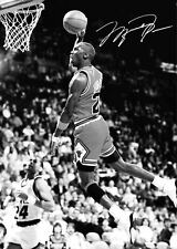 MICHAEL JORDAN BASKETBALL SLAM DUNK POSTER PICTURE PRINT Sizes A5 to A3 **NEW**