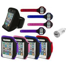Color Running Sports Gym ArmBand+USB Charger for iPhone 4 4G 4S 3GS S 3G 2G