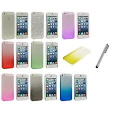 Raindrop Waterdrop Transparent Hard Ultra Thin Case+Metal Pen for iPhone 5 5S