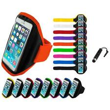 For Apple iPhone 6 (4.7) Gym Sport Running Armband Case Cover Stylus Plug