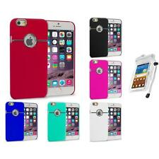 For iPhone 6 Plus (5.5) Hard Deluxe Chrome Rear Slim Case Cover Waterproof Bag