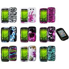 Design Hard Case Cover Accessory+Sticky Pad for Blackberry Torch 9850 9860