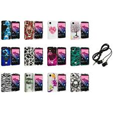 For LG Google Nexus 5 Design Hard Snap-On Case Cover Accessory+Headphones