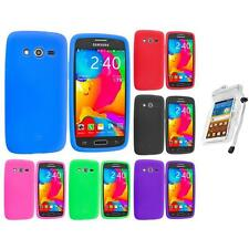 For Samsung Galaxy Avant G386 Silicone Rubber Case Cover Waterproof Bag
