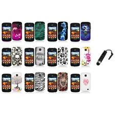 For Samsung Proclaim S720C Illusion Color Hard Design Case Cover+Stylus Plug