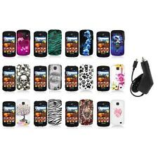 For Samsung Proclaim S720C Illusion Color Hard Design Case Cover+Charger