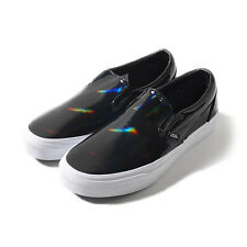 VANS CLASSIC SLIP-ON UNISEX Shoes (PATENT LEATHER BLACK) BRAND  NEW in BOX!!
