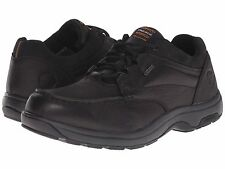 $180 DUNHAM EXETER LOW BOOT BY NEW BALANCE MENS WATERPROOF LEATHER SHOE BLACK