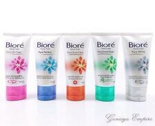 50g. NEW BIORE FACIAL CLEANSING FOAM MOISTURIZER WHITENING OIL CONTROL ANTI-ACNE