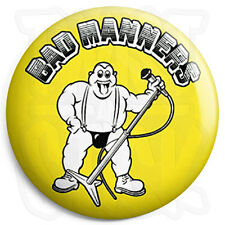 Bad Manners - Band Logo - 25mm Skinhead, Ska Button Badge, Fridge Magnet Option