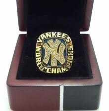 1977 New York Yankees World Series Championship Ring size 8-14 US Solid Gift