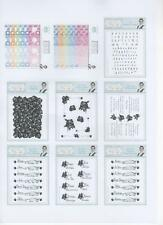 CHIC FLORAL COLLECTION Rubber Stamps/ Papers Sentimentally Yours Phill Martin *
