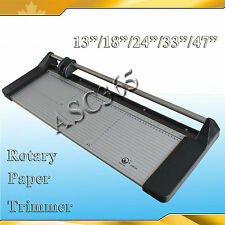 "14"" 18"" 24"" 34"" 48""Manual Safety Sharp Rotary PVC Paper Trimmer Cutter"