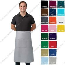 DayStar 123 Premium Quality Three Pocket Full Bistro Apron - Made In USA