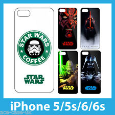 STAR WARS Mobile Phone Cases for iPhone 6 5S 5 Hard Plastic with No Fade Prints