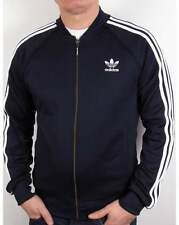 Adidas Originals - Superstar Track Top in Legend Ink & White  Retro Navy Trefoil