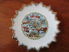 Expo '74 Spokane Washington World's Fair Souvenir Gold Rimmed Plate 6 Inch