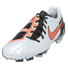 Nike Total 90 T90 Shoot III FG 2010 Soccer Shoes Met. Platinum / Orange / Black