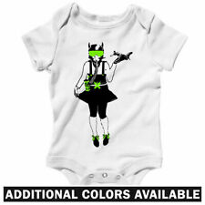 American Education One Piece - Street Art Jet Baby Infant Creeper Romper NB-24M