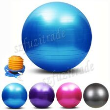 Dia 55/65/75cm Yoga Gym Exercise Ball Balance Pilates Fitness Equipment + Pump