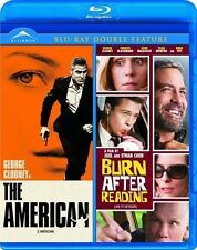 The American/Burn After Reading (Blu-ray Disc, 2011, Canadian)