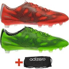 Adidas F50 Adizero TRX FG Men's football-boots green or red incl. shoe bag NEW