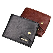 Genuine Leather Mens Wallet, Coin & Card Holder, Hasp Closure, Clasp Wallet