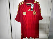 Adidas World Cup 2014 Official Spain Home Soccer Jersey