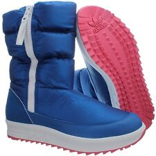 Adidas Sporty Snowparadise W Women's winter boots blue/white booties NEW