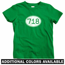 Area Code 718 NYC Kids T-shirt - Baby Toddler Youth - Bronx Queens Brooklyn NY
