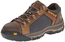Caterpillar Convex Lo Comfortable Steel Toe Work Shoe Mens Dark Beige