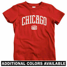 Chicago 773 Kids T-shirt - Baby Toddler Youth Tee - Cubs Gift Bulls Bears Fire