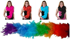 Ladies Girls Womens Luxurious Feather Boa Hen Night Fancy Dress Party 10 Colours
